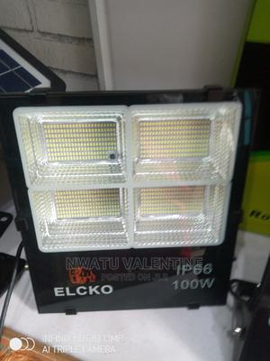 100watts Solar Flood Light With Panel | Solar Energy for sale in Lagos State, Ojo