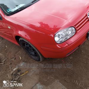 Volkswagen Golf 2007 Red   Cars for sale in Lagos State, Ifako-Ijaiye