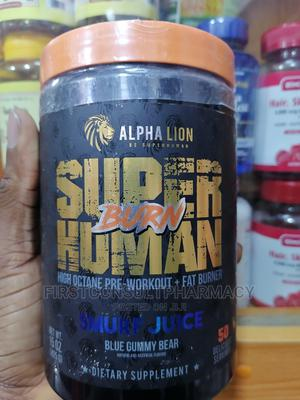 Alpha Lion Super Human Burn Smurf Juice X 50   Vitamins & Supplements for sale in Lagos State, Surulere
