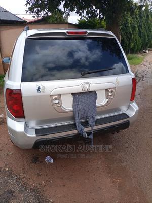 Honda Pilot 2004 EX-L 4x4 (3.5L 6cyl 5A) Silver | Cars for sale in Plateau State, Jos
