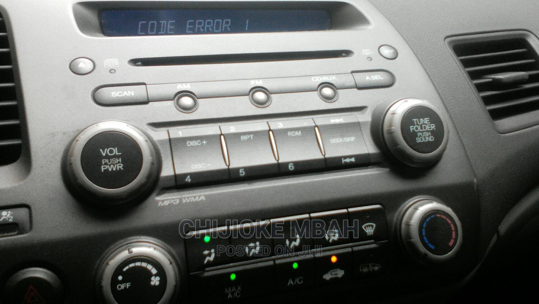 Honda Civic 2007 1.8 Sedan EX Automatic Silver | Cars for sale in Gbagada, Lagos State, Nigeria