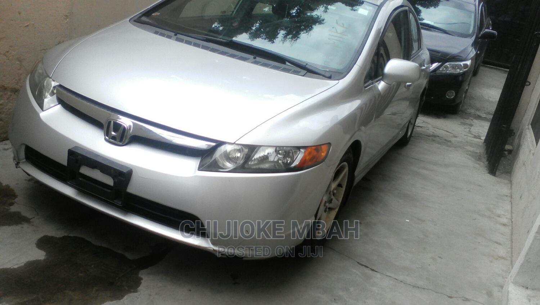 Honda Civic 2007 1.8 Sedan EX Automatic Silver