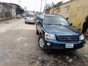 Toyota Highlander 2004 Limited V6 FWD Blue   Cars for sale in Rivers State, Port-Harcourt
