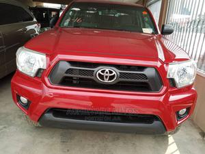 Toyota Tacoma 2012 Double Cab V6 Automatic Red | Cars for sale in Lagos State, Surulere