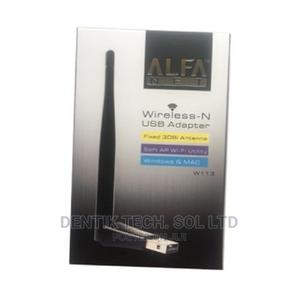 ALFA Wifi Wireless-N USB Adapter for Windows Mac Support | Networking Products for sale in Lagos State, Ikeja