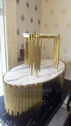 Imported Center Table and Side Stool | Furniture for sale in Lagos State, Ojo