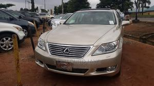 Lexus LS 2010 460 Gold | Cars for sale in Lagos State, Ikotun/Igando