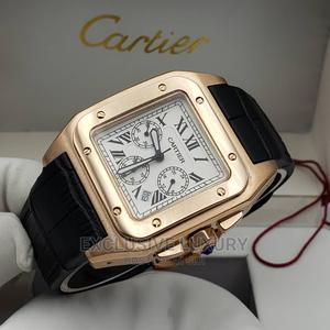Cartier Leather Wristwatch   Watches for sale in Lagos State, Lagos Island (Eko)