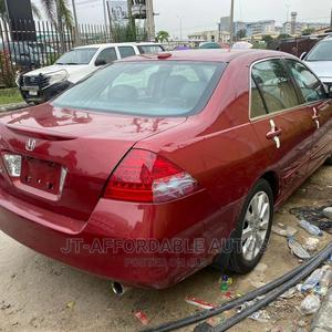Honda Accord 2007 Red   Cars for sale in Lagos State, Lekki
