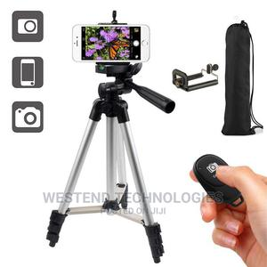 Smartphone Tripod Stand With Bluetooth Selfie Remote   Accessories & Supplies for Electronics for sale in Lagos State, Ikeja