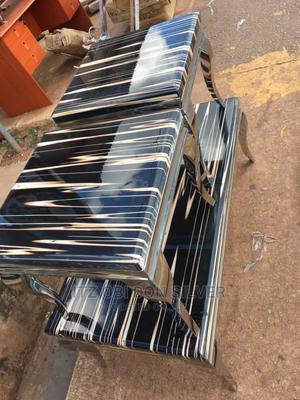 Portable Marble Center Table and Side Stool | Furniture for sale in Anambra State, Onitsha