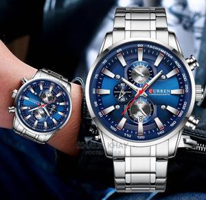 Curren Chronograph Men's Watch Sport Men Watch | Watches for sale in Lagos State, Ikorodu