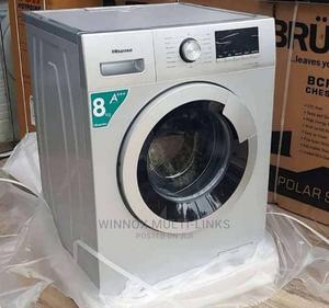 8kg Hisense Automatic Front Loader Washing Machine | Home Appliances for sale in Lagos State, Ibeju