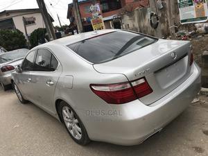 Lexus LS 2007 460 Luxury Sedan Silver | Cars for sale in Lagos State, Lekki
