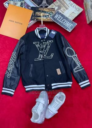 High Quality LOUIS VUITTON Leather Jacket Available for Sale   Clothing for sale in Lagos State, Ikoyi
