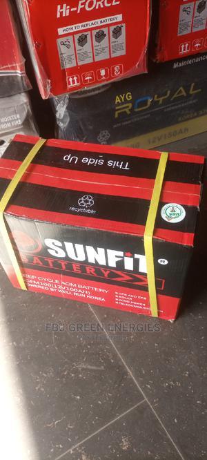 Sunfit 100ah 12V Solar Inverter Battery   Solar Energy for sale in Oyo State, Ibadan