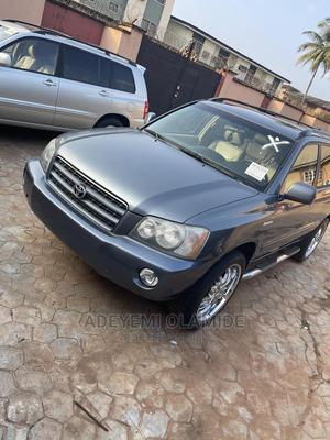 Toyota Highlander 2003 Limited V6 FWD Blue   Cars for sale in Ogun State, Ijebu