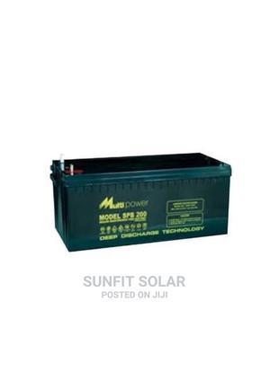 Multipower 200AH 12V Inverter Battery   Solar Energy for sale in Lagos State, Ojo