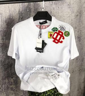 High Quality DQSUARED2 White T-Shirts Available for Sale | Clothing for sale in Lagos State, Ikoyi