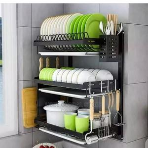 Wall. 3 Layers Plate Rack   Kitchen & Dining for sale in Lagos State, Ikeja