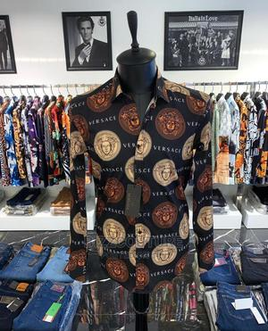 High Quality VERSACE Shirts for Men Available for Sale | Clothing for sale in Lagos State, Ikoyi