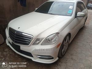 Mercedes-Benz E350 2011 Off White | Cars for sale in Lagos State, Amuwo-Odofin