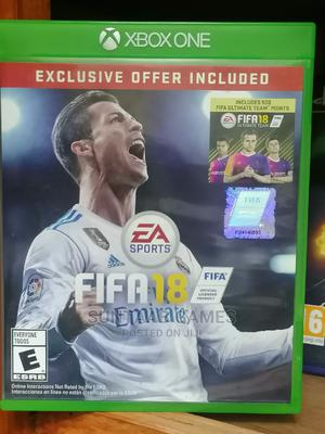 FIFA 18 Standard Edition - Xbox One   Video Games for sale in Lagos State, Lagos Island (Eko)
