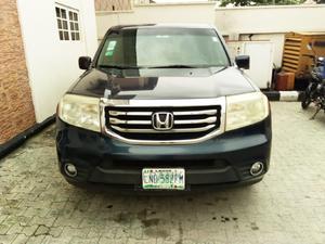Honda Pilot 2012 Black   Cars for sale in Lagos State, Lekki
