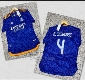 Real Madrid Official 21/22 Player Version Away Jersey | Clothing for sale in Lagos State, Surulere