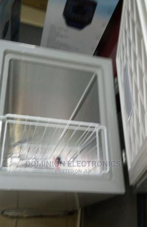 New Polystar 100 Ltr Deep Freezer Super Cooling Silver | Kitchen Appliances for sale in Lagos State, Ojo
