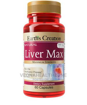 Earth's Creation USA Liver Max | Vitamins & Supplements for sale in Lagos State, Ilupeju