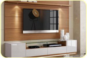 Modern Television Stand With Shelves | Furniture for sale in Lagos State, Ikeja