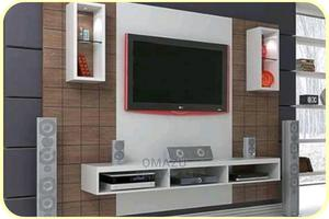 Classic Television Stand With Shelves | Furniture for sale in Lagos State, Ikeja