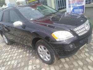 Mercedes-Benz M Class 2007 ML 350 4Matic Black   Cars for sale in Lagos State, Oshodi
