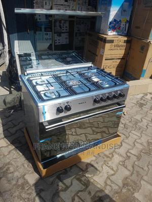 Brand New MAXI Gas Cooker,5borner All Gas, Stainless Steel | Kitchen Appliances for sale in Lagos State, Ojo