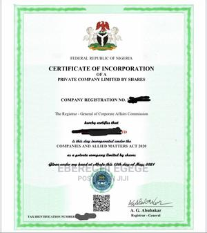 Register Your Business With CAC   Legal Services for sale in Rivers State, Port-Harcourt