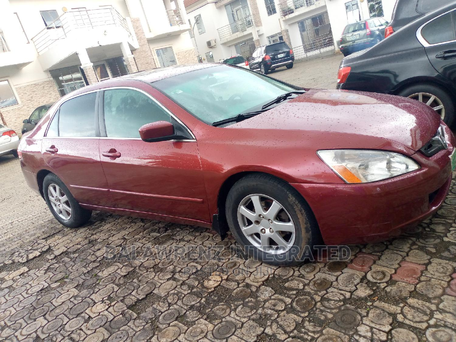 Honda Accord 2005 Red | Cars for sale in Apo District, Abuja (FCT) State, Nigeria