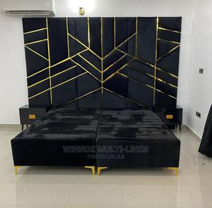 6by6 Quality Bedframe   Furniture for sale in Lagos State, Ibeju