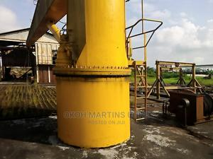 Barge With Mounted Crane   Watercraft & Boats for sale in Delta State, Warri