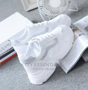 White Sneakers Canvas for Women   Shoes for sale in Lagos State, Surulere