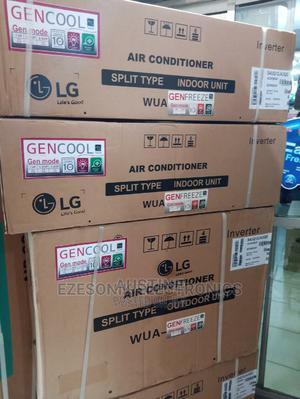 Brand New LG 1HP INVERTER Split Unit Ac, % Full Copper | Home Appliances for sale in Lagos State, Ojo