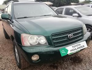 Toyota Highlander 2003 Green | Cars for sale in Abuja (FCT) State, Nyanya