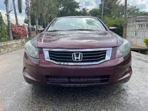 Honda Accord 2008 2.0 Comfort Automatic Red | Cars for sale in Abuja (FCT) State, Wuse