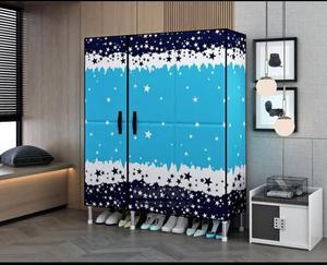 3 Coloum Steel Mobile Wardrobe | Furniture for sale in Lagos State, Oshodi