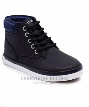 Boys Black Nautica Black Boots Shoes | Children's Shoes for sale in Lagos State, Agboyi/Ketu