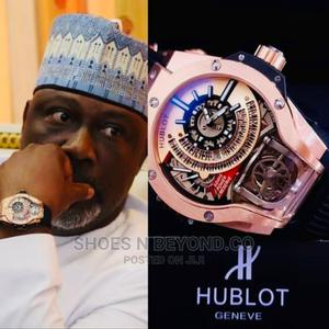 HUBLOT Geneve Rubber Strap Watch for Kings Only   Watches for sale in Lagos State, Lagos Island (Eko)