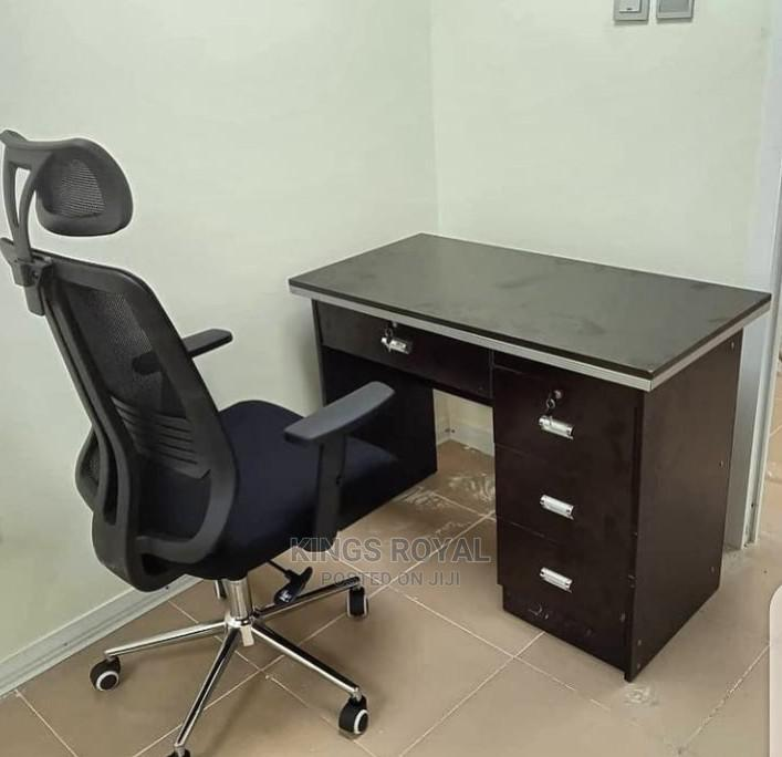 Imported Executive Office Table With Chair