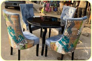 4 Seater Dinning Set With a Shinning Top Table | Furniture for sale in Lagos State, Ikeja