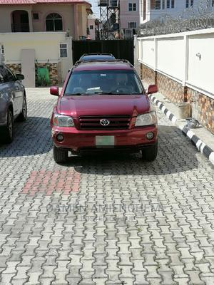 Toyota Highlander 2007 4x4 Red | Cars for sale in Lagos State, Lekki