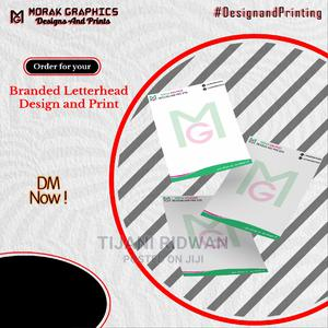 Letter Head | Printing Services for sale in Oyo State, Ibadan